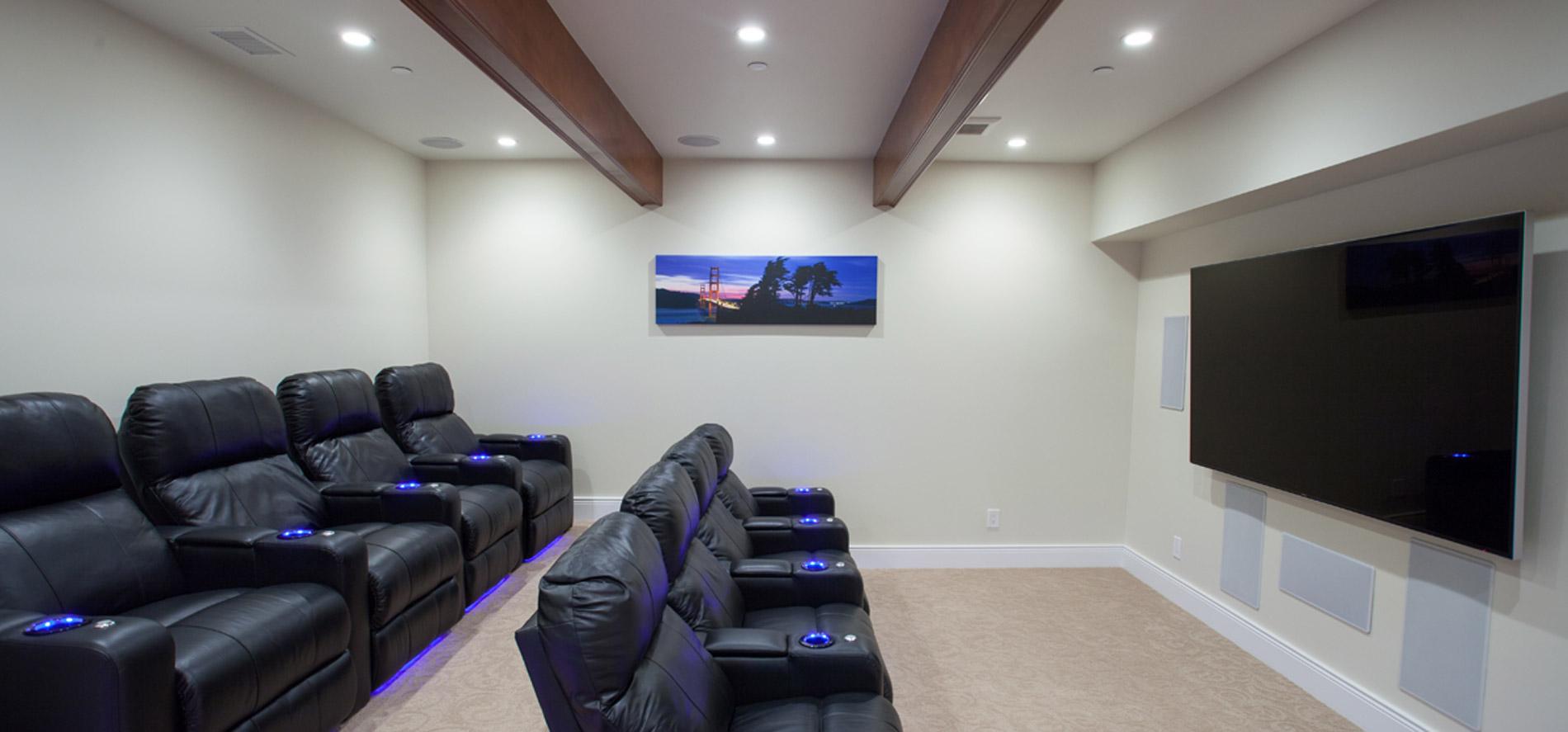 Home Theater - O\'Riordan Construction, Inc.